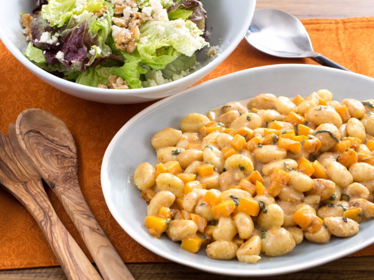 Brown Butter and Butternut Squash Gnocchi Healthy Recipe