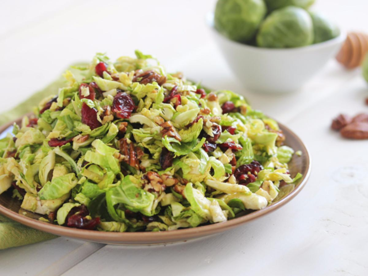 Brussels Sprout Slaw Healthy Recipe