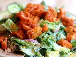 Buffalo Chicken Salad Healthy Recipe