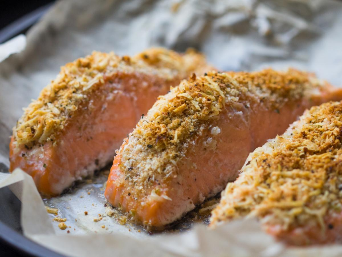Buffalo Salmon Healthy Recipe