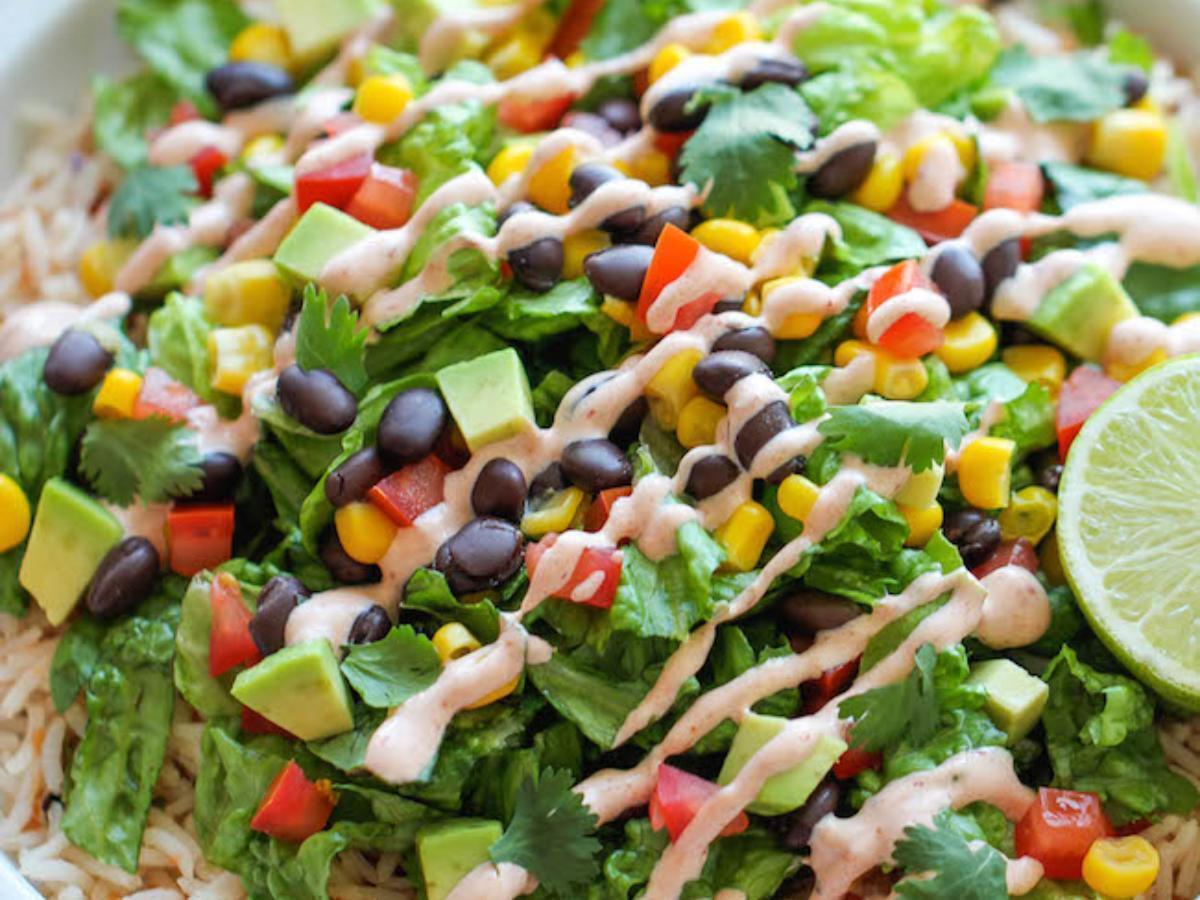 Burrito Bowl Healthy Recipe