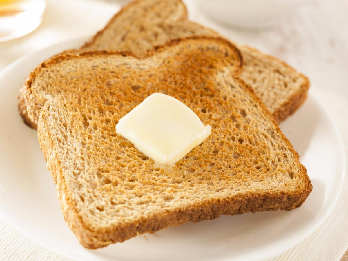 Buttered Toast Healthy Recipe