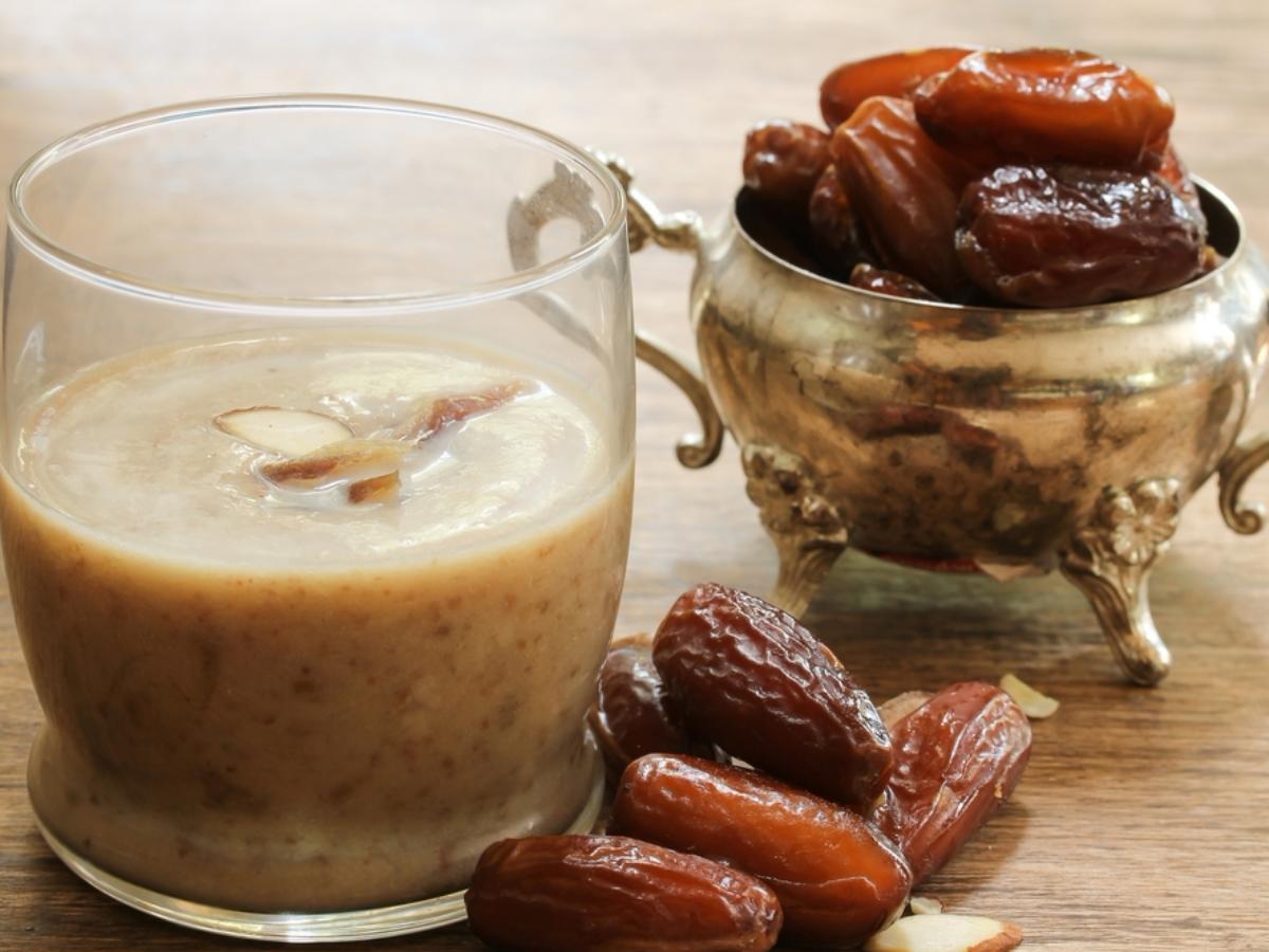 California Date Shakes Healthy Recipe