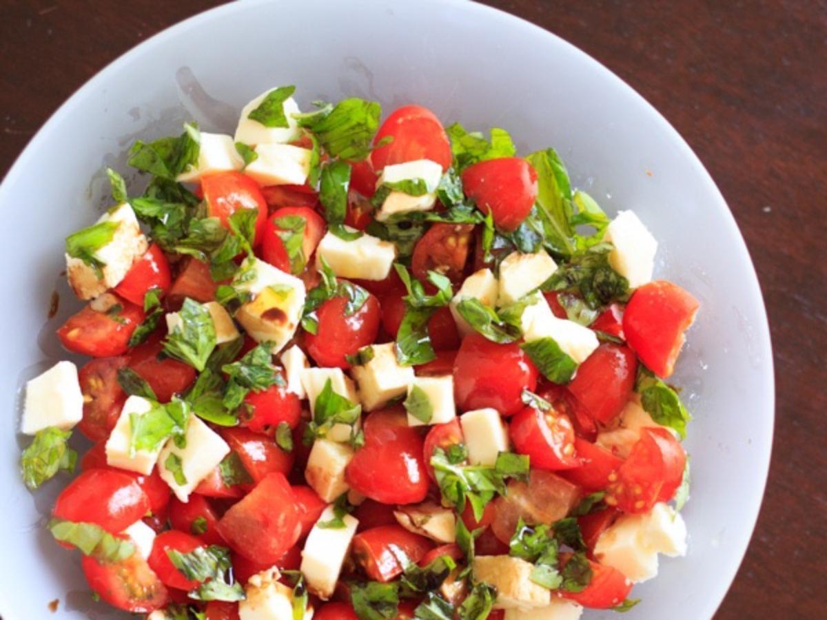 Caprese Salad Healthy Recipe