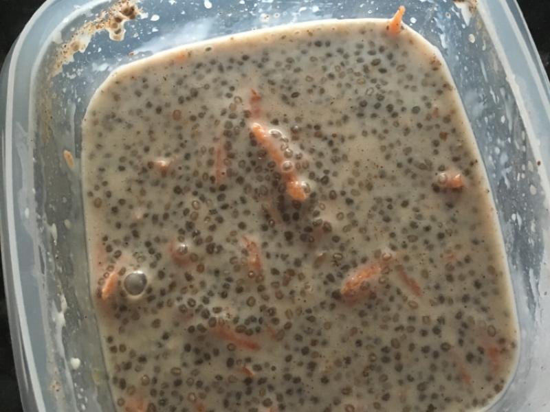 Carrot Cake Chia Pudding Healthy Recipe