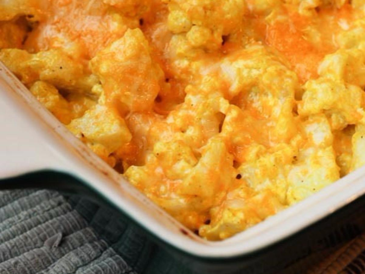 Caulfloweri Mac and Cheese Healthy Recipe
