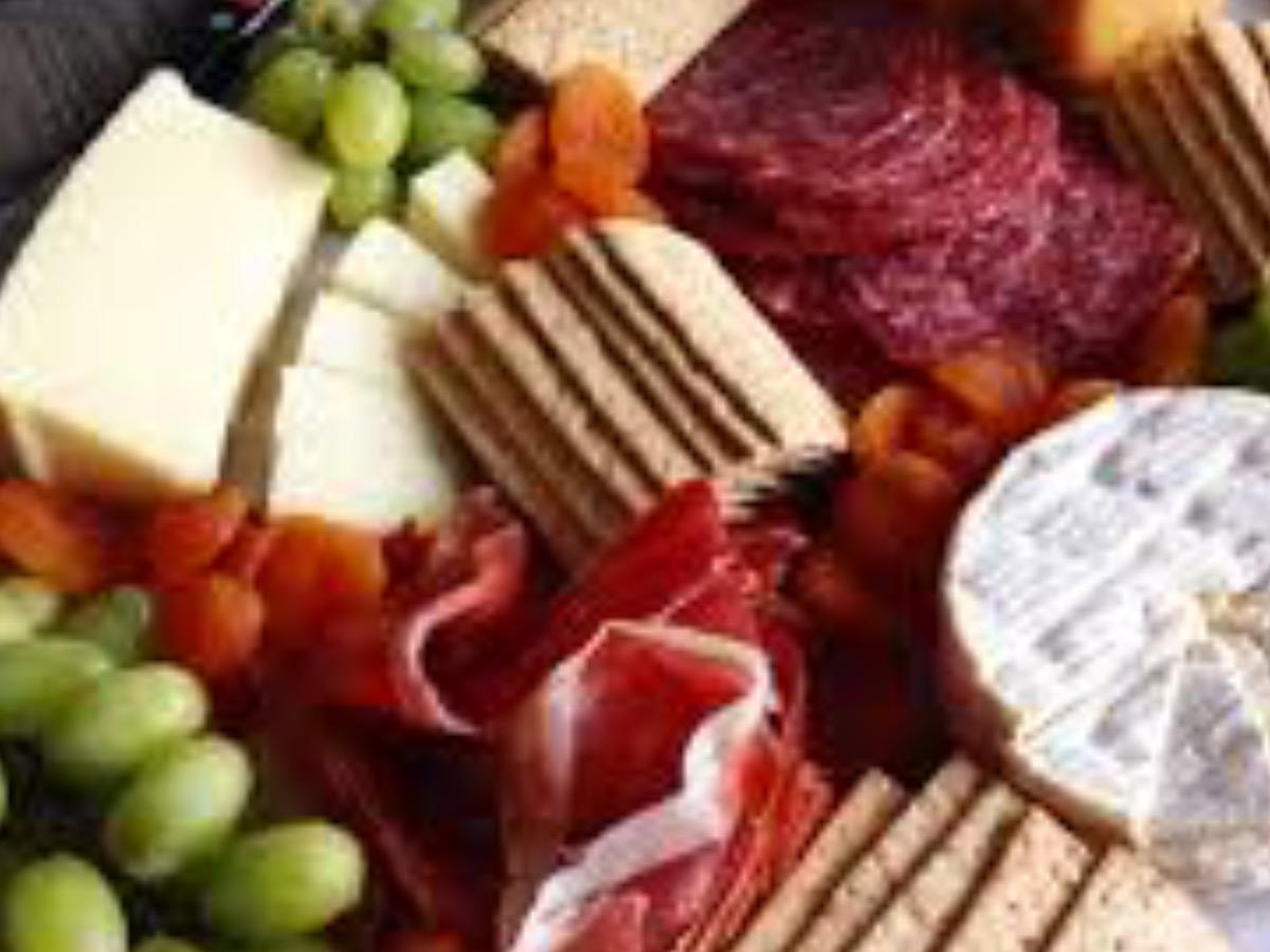 Charcuterie and Cheese Plate Healthy Recipe