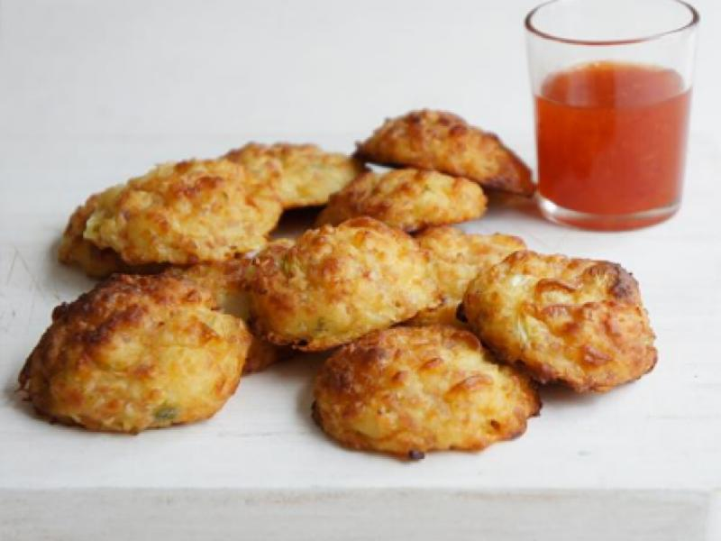 Cheese and Bacon Puffs Healthy Recipe