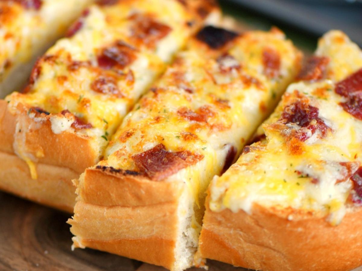 Cheesy Bacon Ranch Bread Healthy Recipe