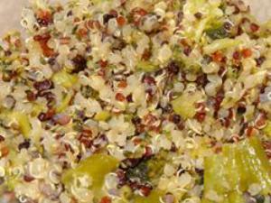 Cheesy Broccoli Quinoa Healthy Recipe