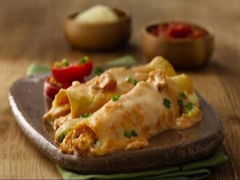 Cheesy chicken enchiladas Healthy Recipe