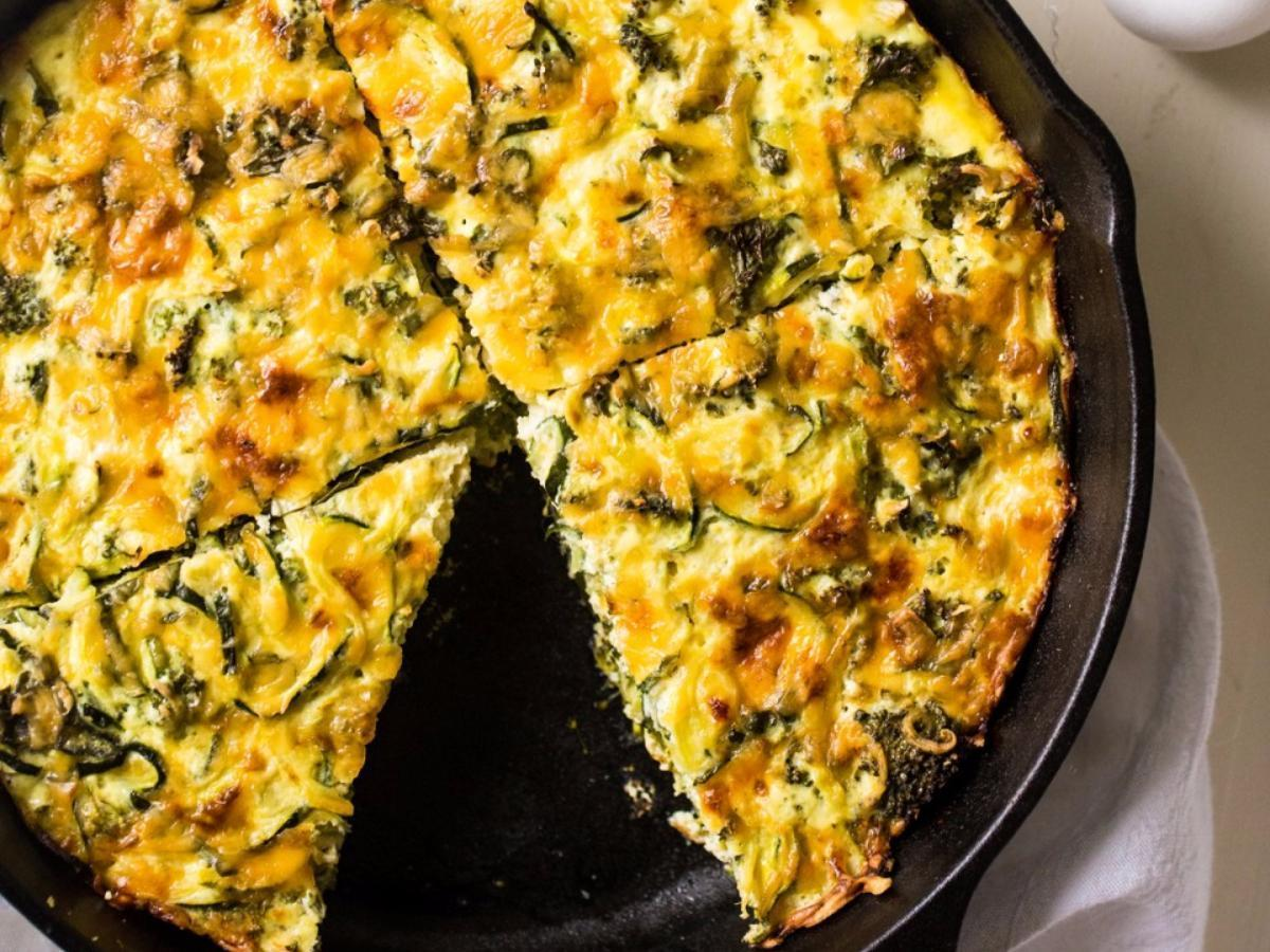 Cheesy Veggie Bake Healthy Recipe