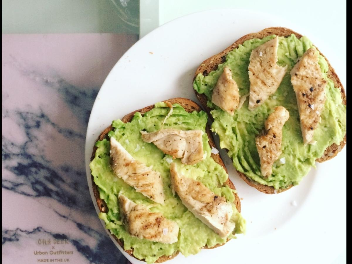 Chicken and Avocado Sandwich Healthy Recipe
