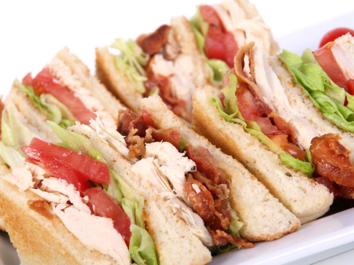 Chicken club sandwich Healthy Recipe