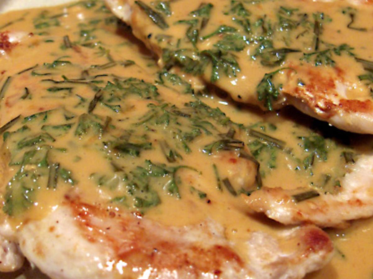 Chicken Diane Healthy Recipe