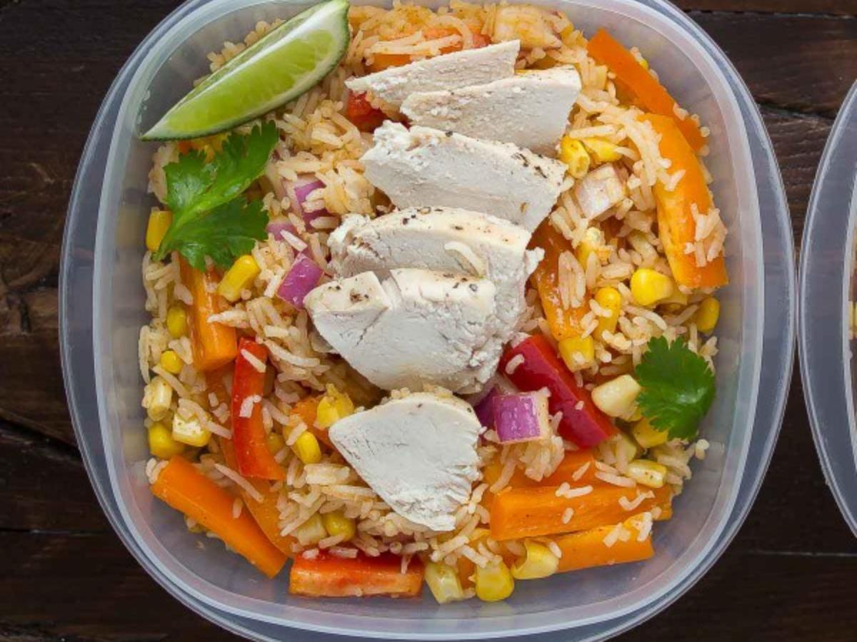 Chicken Fajita Bowl Healthy Recipe