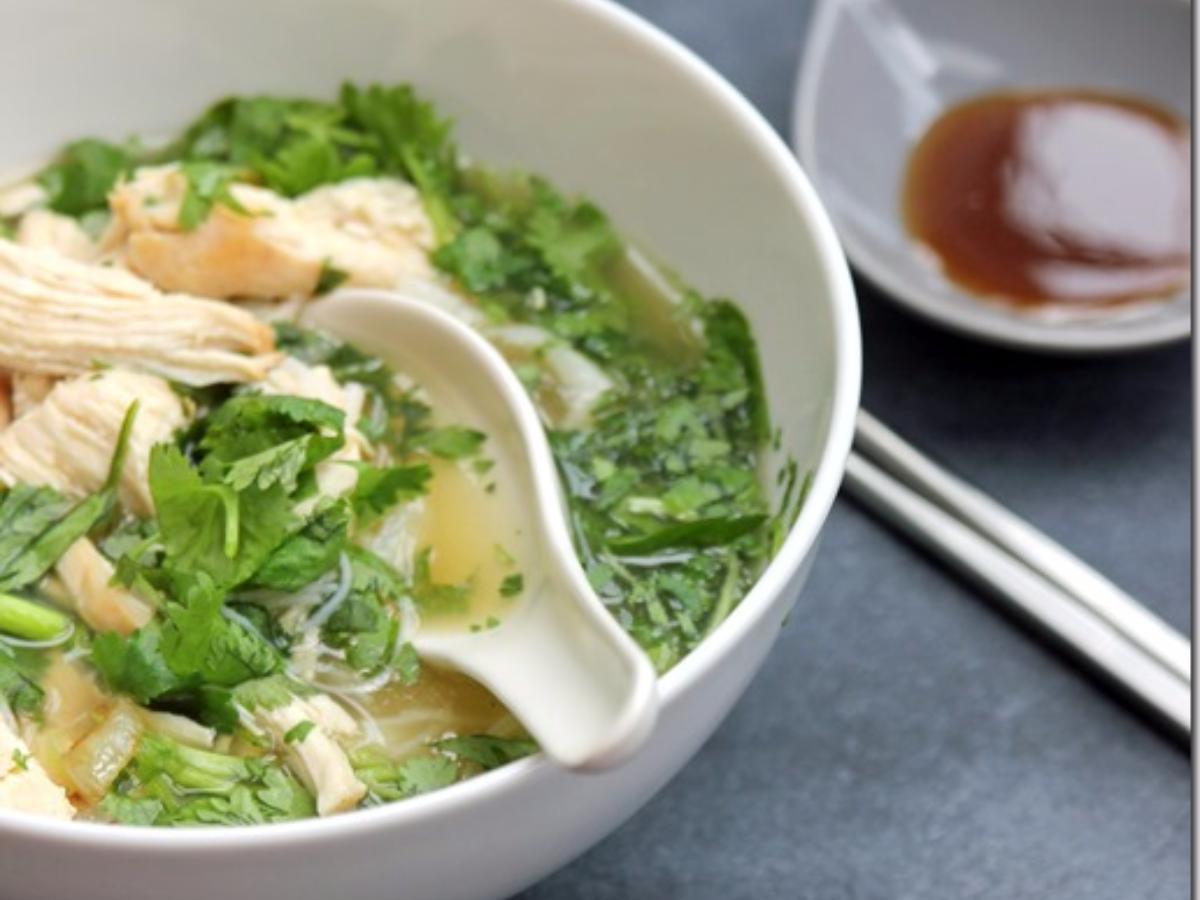 Chicken Pho Healthy Recipe