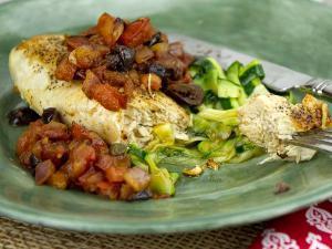 Chicken Puttanesca Healthy Recipe