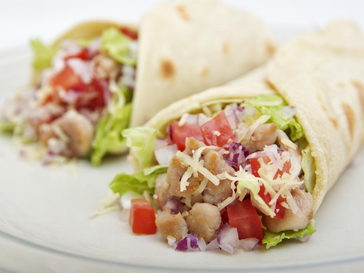 Chicken Ranch Tacos Healthy Recipe