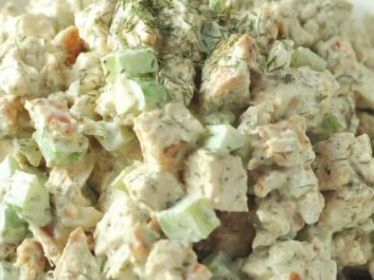 Chicken Salad with Dried Basil Healthy Recipe