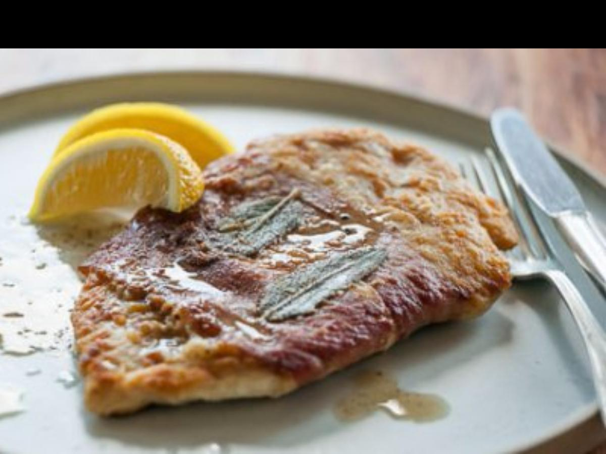 Chicken Saltimbocca Healthy Recipe