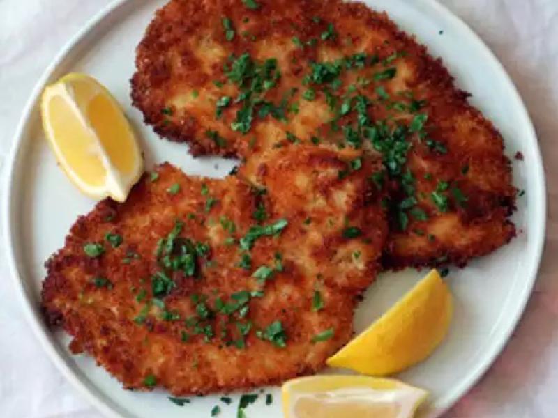 Chicken Schnitzel Healthy Recipe