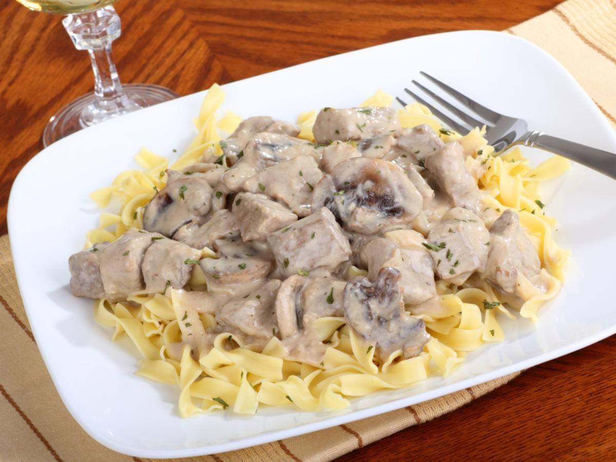 Chicken Stroganoff Healthy Recipe