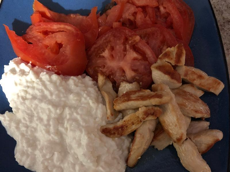 Chicken with Cottage Cheese Healthy Recipe