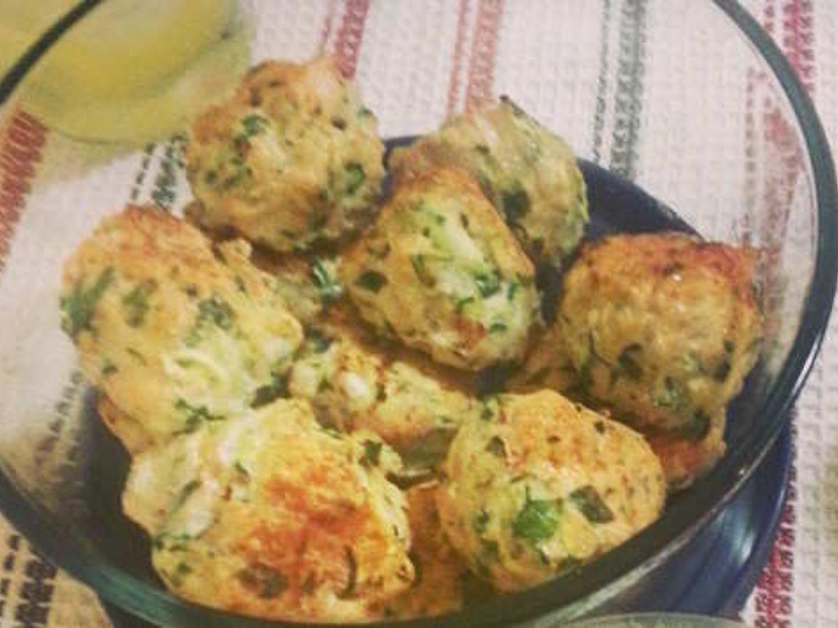 Chicken Zucchini Meatball Poppers Healthy Recipe