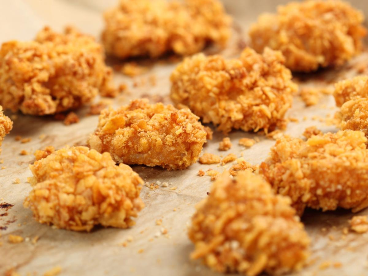 Chickpea Nuggets Healthy Recipe