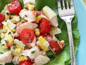 Chilled Lobster Salad Healthy Recipe