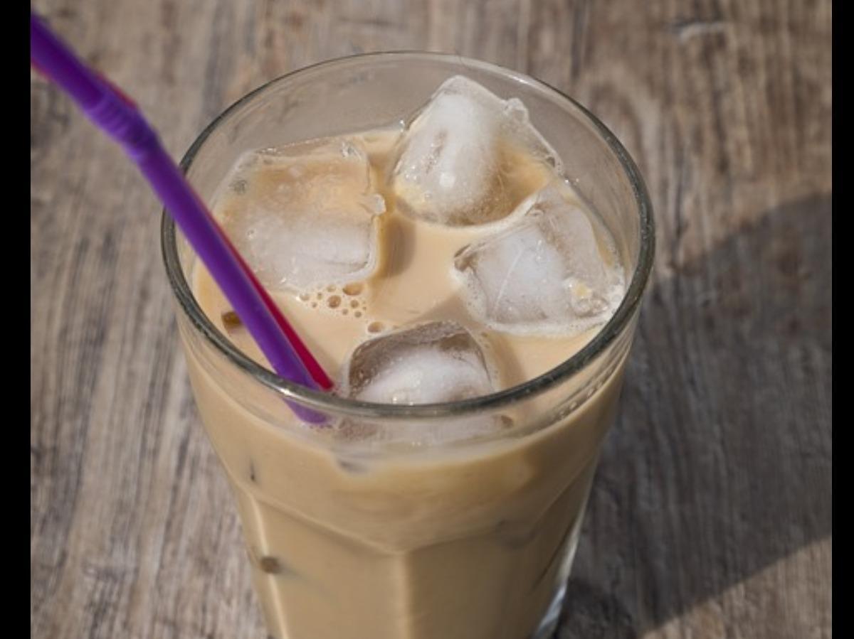 Chocolate Almond Iced Coffee Healthy Recipe