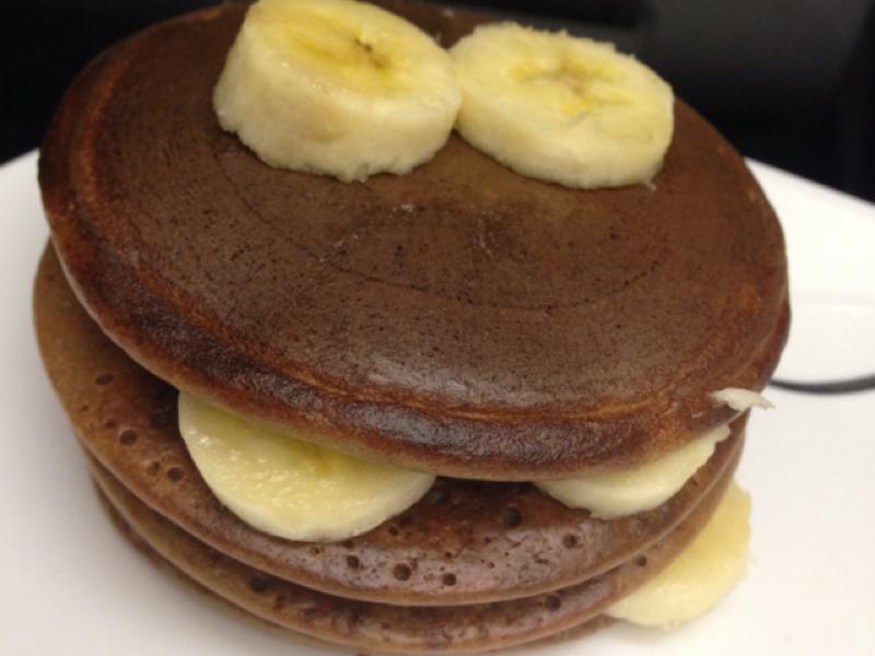 Chocolate Peanut Butter Pancakes Healthy Recipe