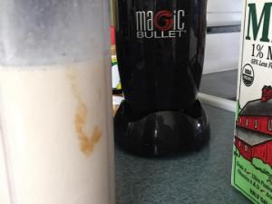 Chocolate peanut protein shake Healthy Recipe