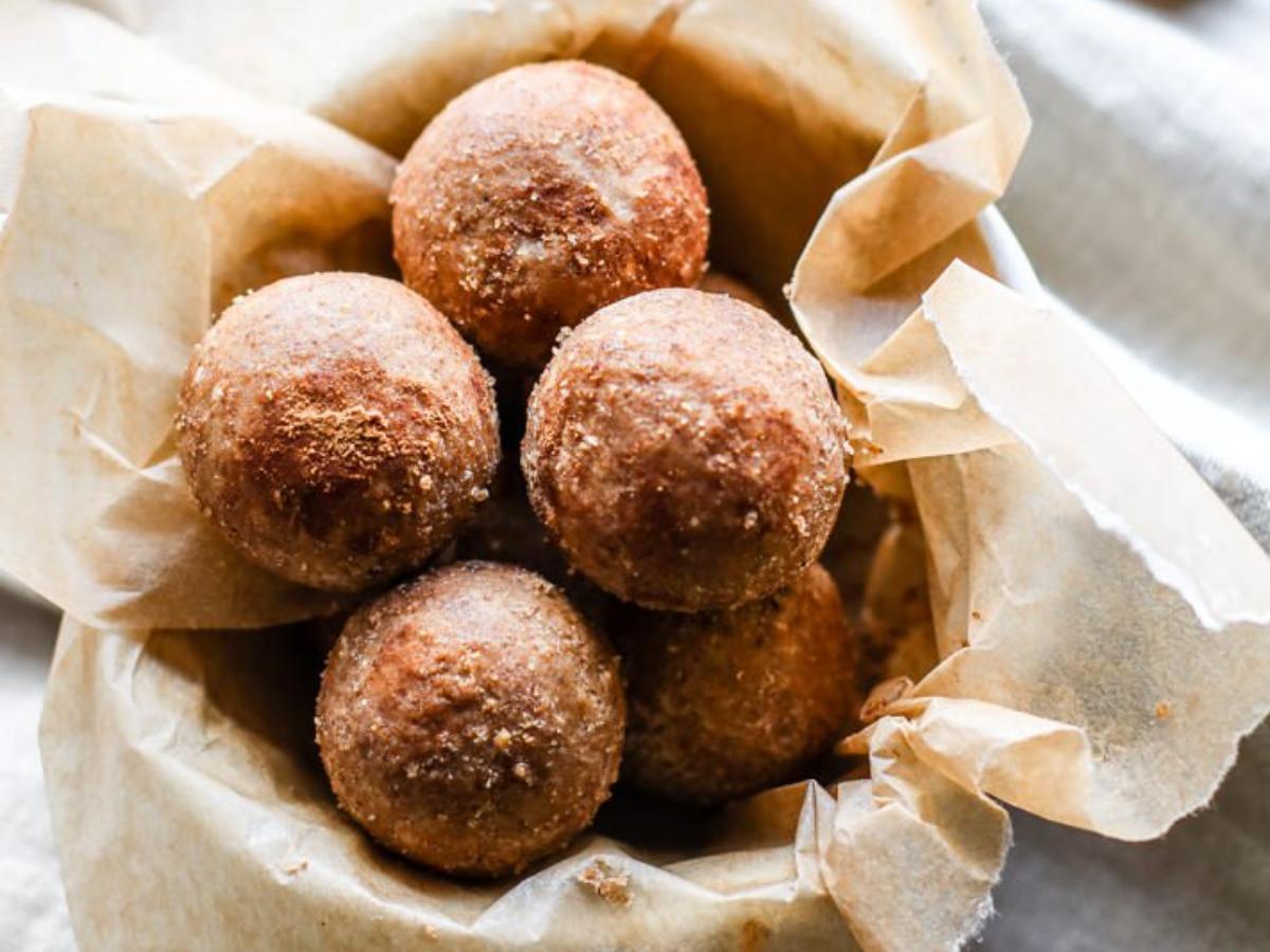 Cinnamon Vanilla Breakfast Protein Bites Healthy Recipe