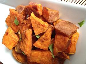 Coconut Curried Sweet Potatoes Healthy Recipe