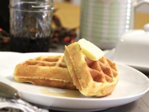 Coconut Flour Waffles Healthy Recipe