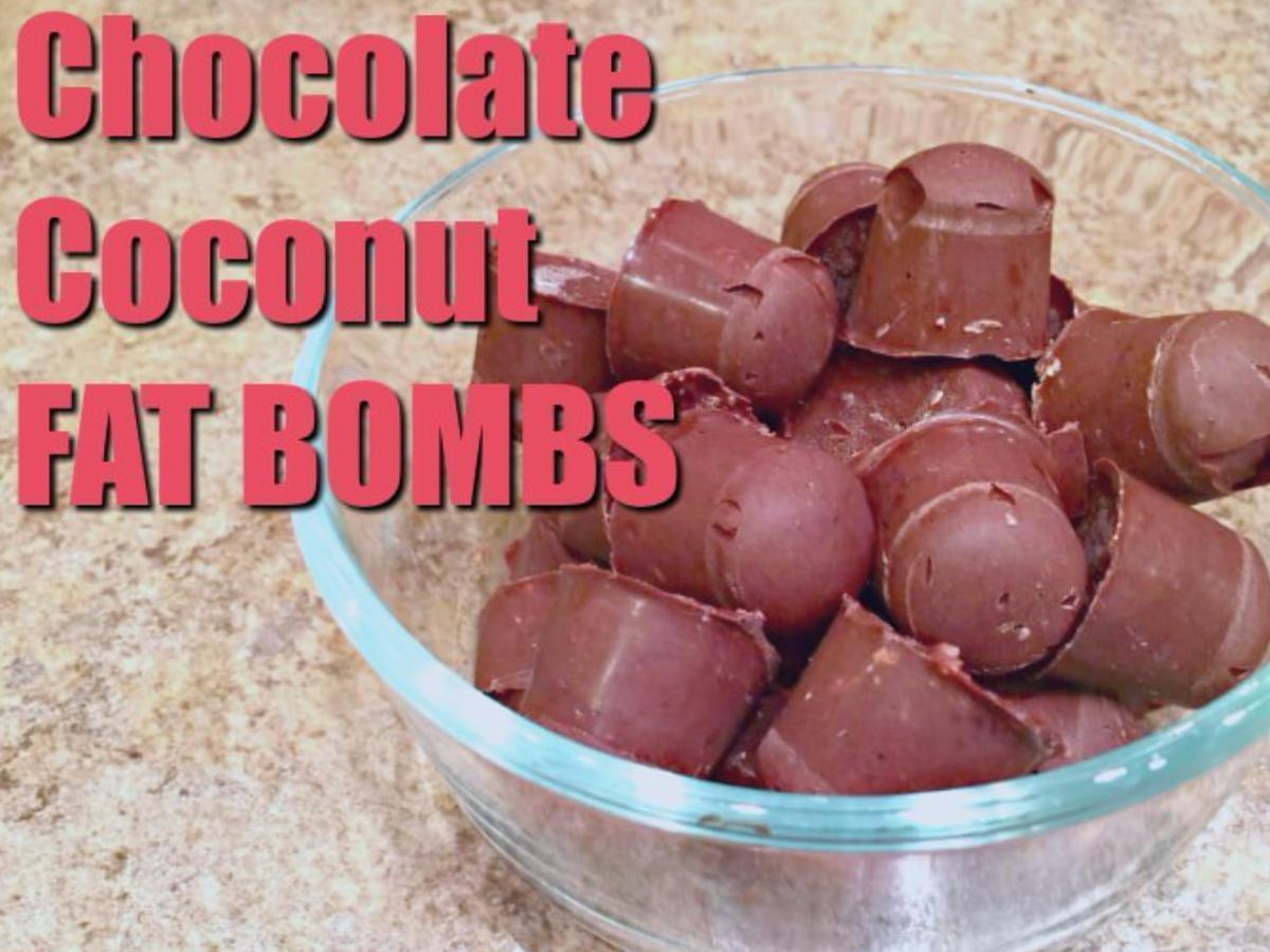 Coconut Oil Fat Bombs Healthy Recipe