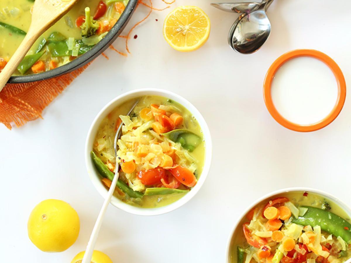 Coconut Quinoa Curry Healthy Recipe