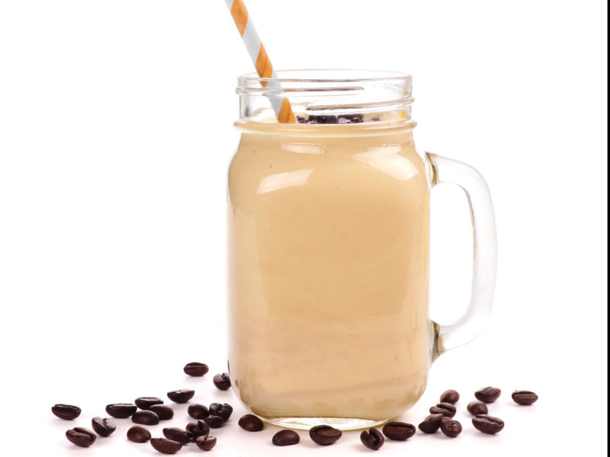 Coffee Banana Protein Shake Healthy Recipe