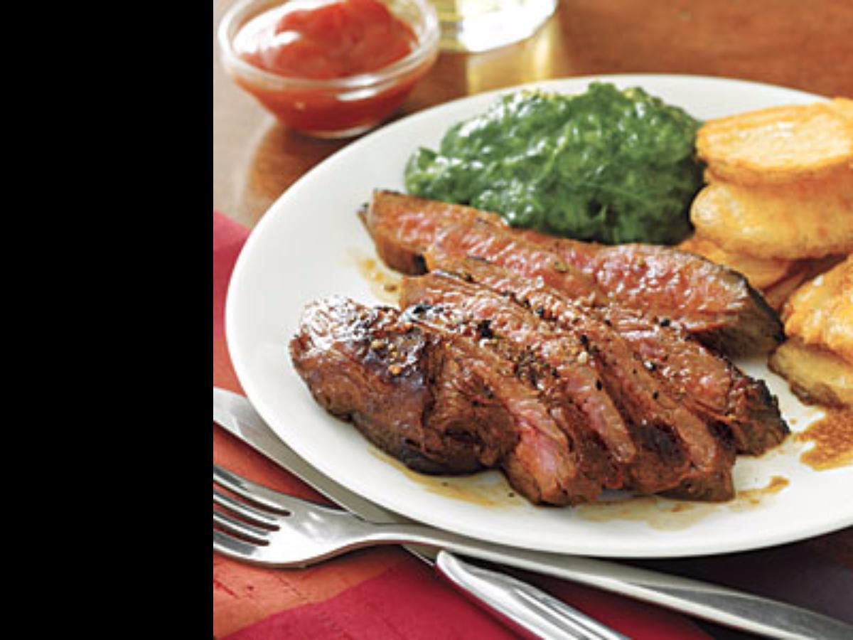 Cola Marinated Flank Steak Healthy Recipe