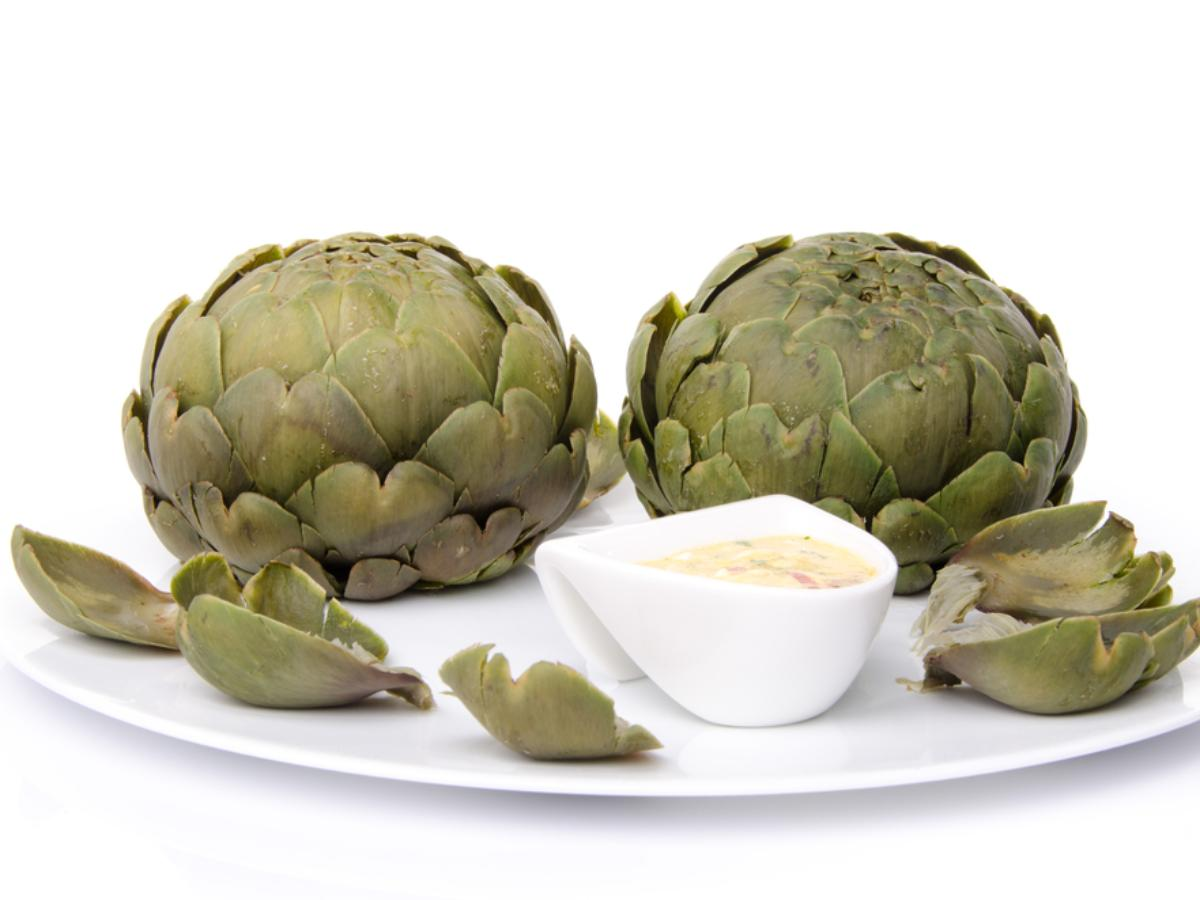 Cooked Artichokes Healthy Recipe