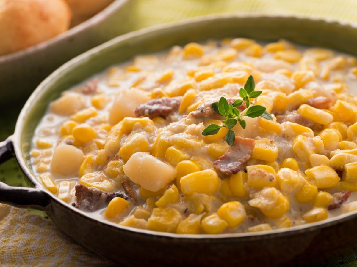 Corn & Potato Chowder Healthy Recipe