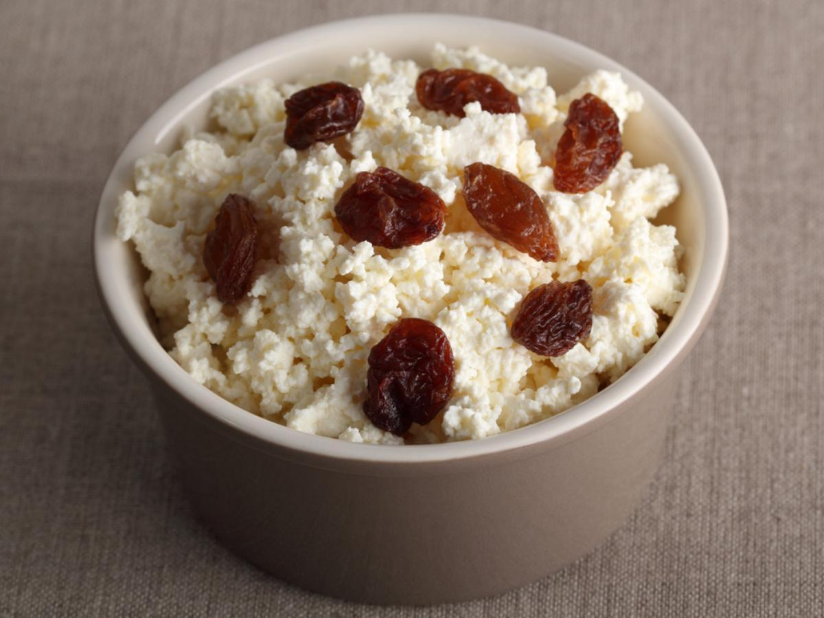 Cottage Cheese & Raisins Healthy Recipe