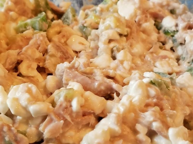 Cottage Cheese Tuna Salad Healthy Recipe