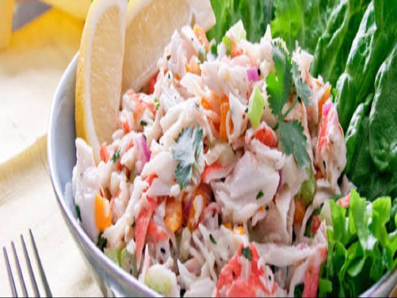 Crab Salad Healthy Recipe