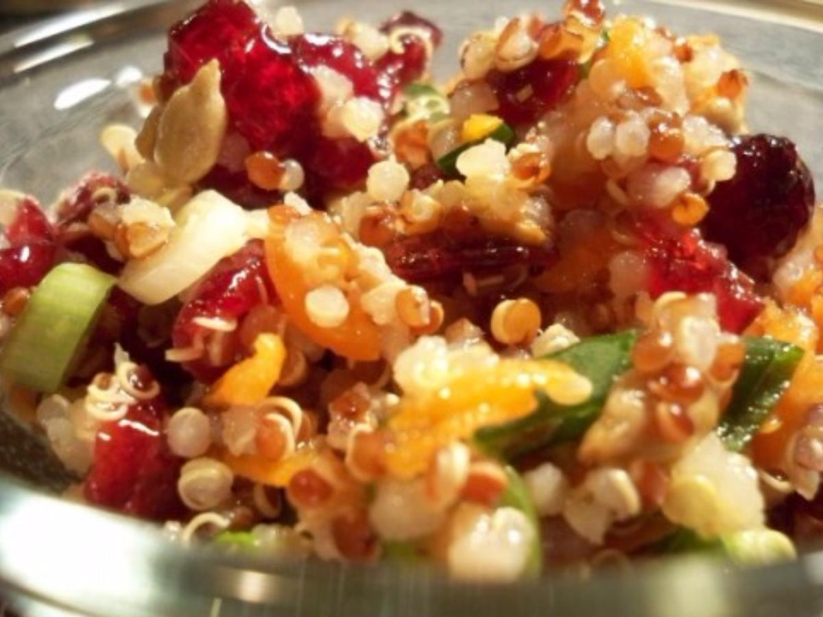 Cranberry Quinoa Salad Healthy Recipe
