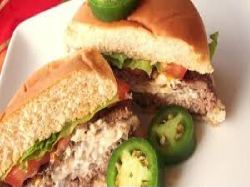 Cream Cheese Jalapeno Hamburgers Healthy Recipe