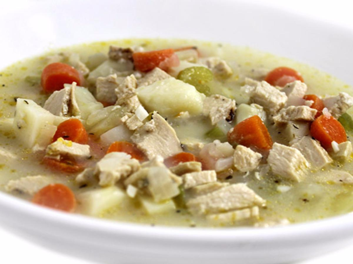 Creamy Chicken and Potato Soup  Healthy Recipe
