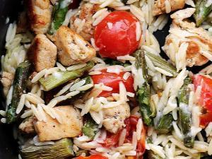 Creamy Chicken Pasta Healthy Recipe